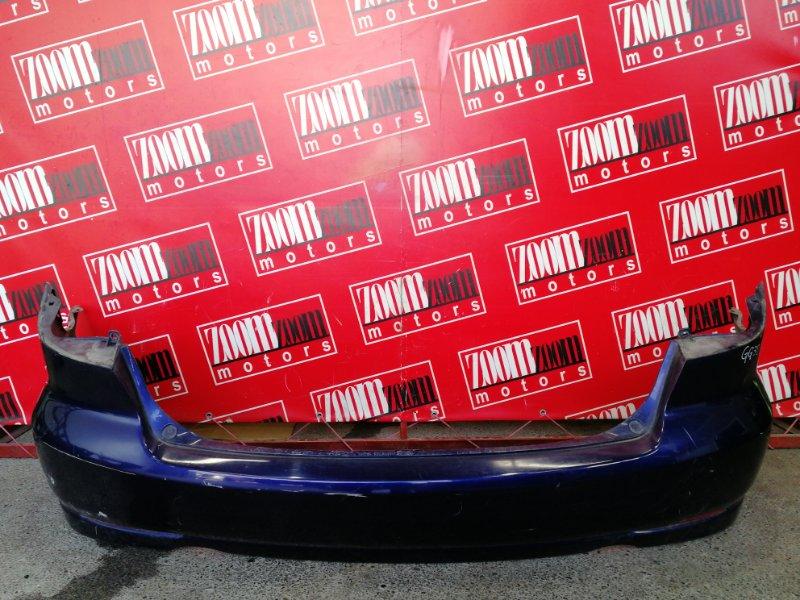 Бампер Mazda Atenza GG3S LF-DE 2002 задний синий