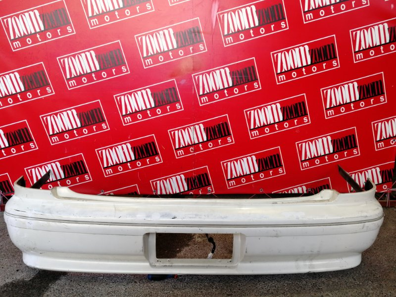 Бампер Toyota Mark Ii GX100 1G-FE 1996 задний белый перламутр