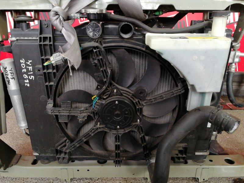 Радиатор двигателя Nissan Juke YF15 HR15DE 2010
