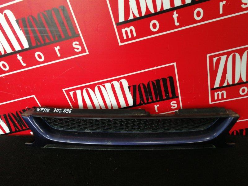 Решетка радиатора Nissan Wingroad WFY10 GA15DE 1996 синий
