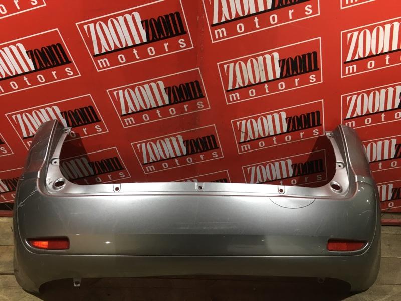 Бампер Mitsubishi Colt Plus Z23W 4A91 2004 задний серебро