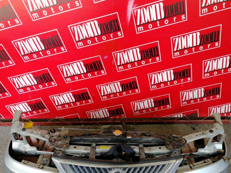 Рамка радиатора Nissan Sunny FB15 QG15DE 1998 серебро
