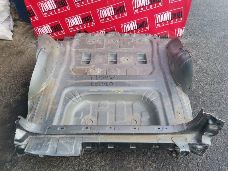 Днище (панель пола, багажника) Suzuki Escudo TD54W J20A 2006 заднее