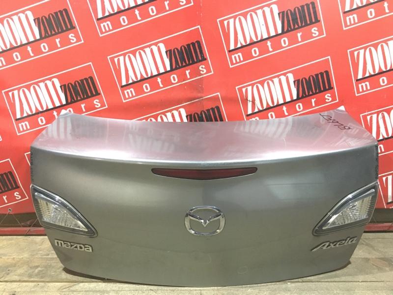 Крышка багажника Mazda Axela BL5FW ZY-VE 2009 задняя серый 80-43