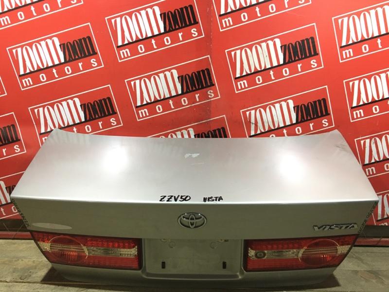 Крышка багажника Toyota Vista ZZV50 1ZZ-FE 1998 задняя серебро 32-176