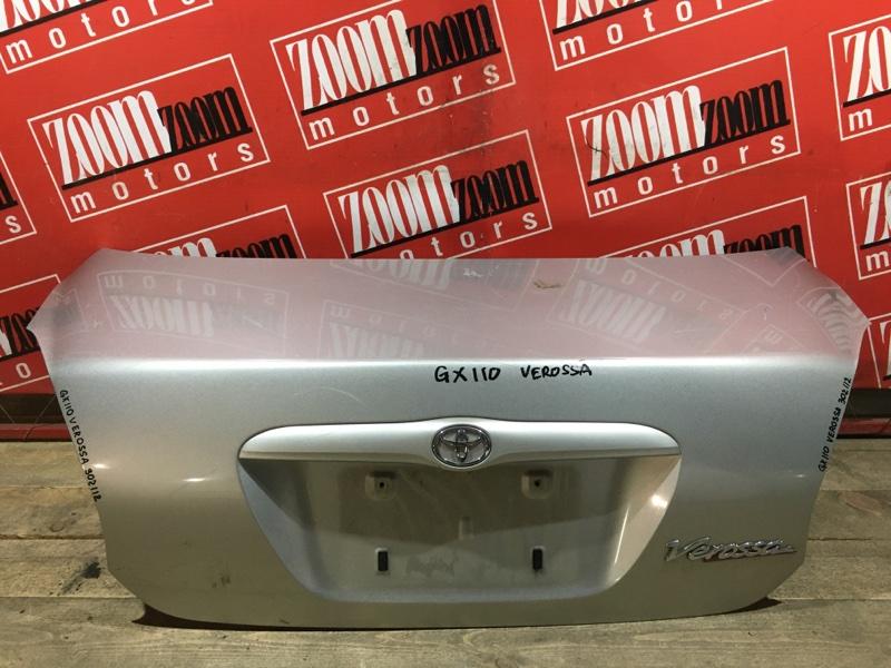 Крышка багажника Toyota Verossa GX110 1G-FE 2001 задняя серебро