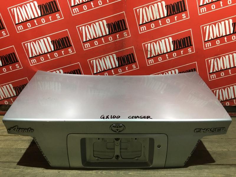 Крышка багажника Toyota Chaser GX100 1G-FE 1996 задняя серебро