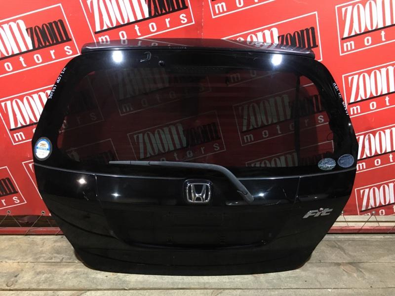 Дверь задняя багажника Honda Fit GD1 L13A 2004 задняя черный
