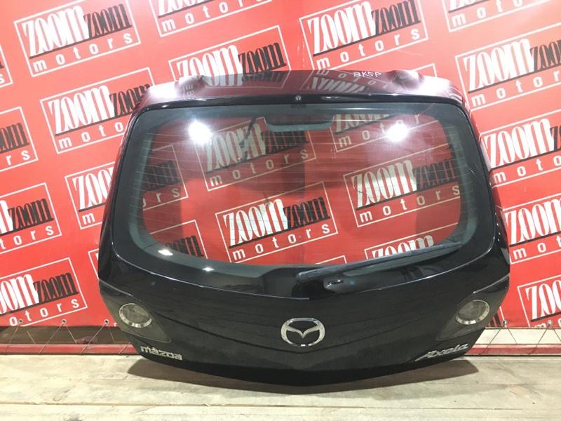 Дверь задняя багажника Mazda Axela BK5P ZY-VE 2003 задняя черный 29-13