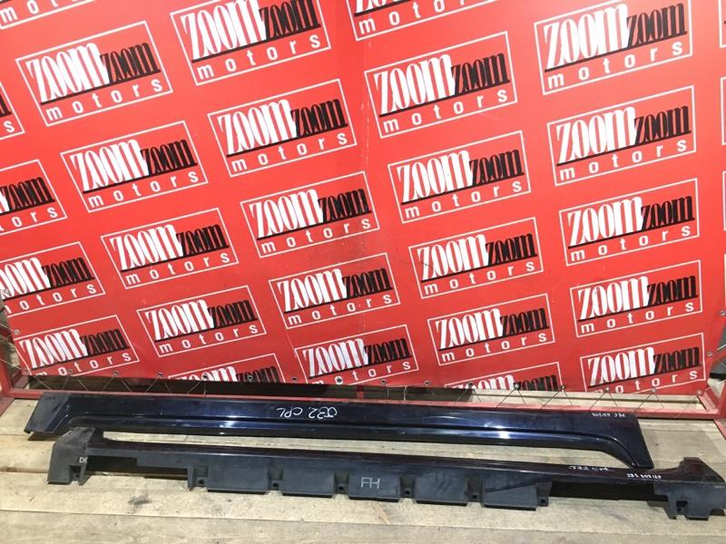 Порог Nissan Teana J32 VQ25DE 2008 темно синий