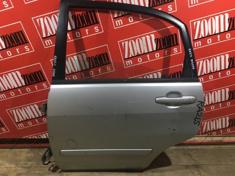 Дверь боковая Suzuki Aerio RA21S M15A 2000 задняя левая серебро
