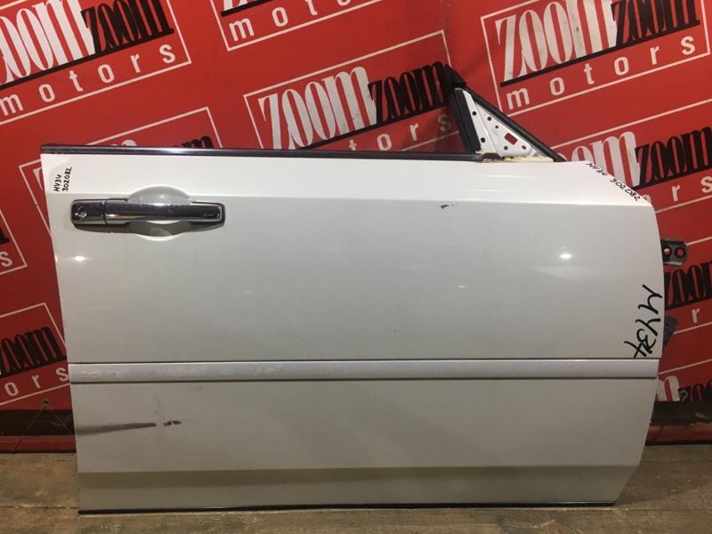 Дверь боковая Nissan Gloria MY34 VQ25DD 1999 передняя правая белый перламутр