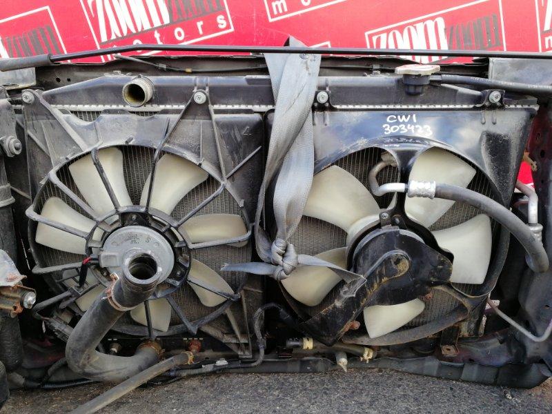 Радиатор двигателя Honda Accord CW1 R20A 2011