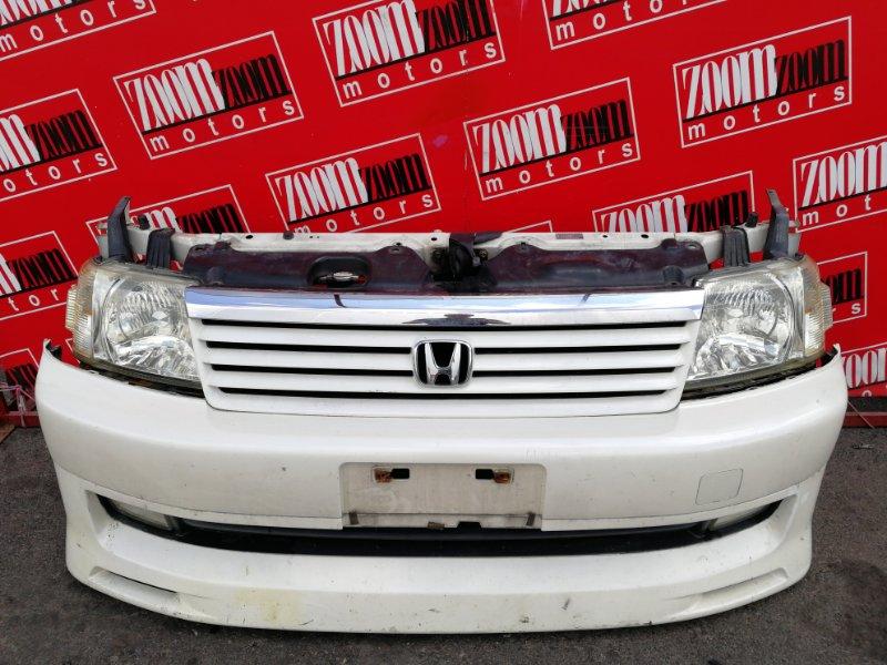 Nose cut Honda Stepwgn RF3 K20A 2001 белый перламутр