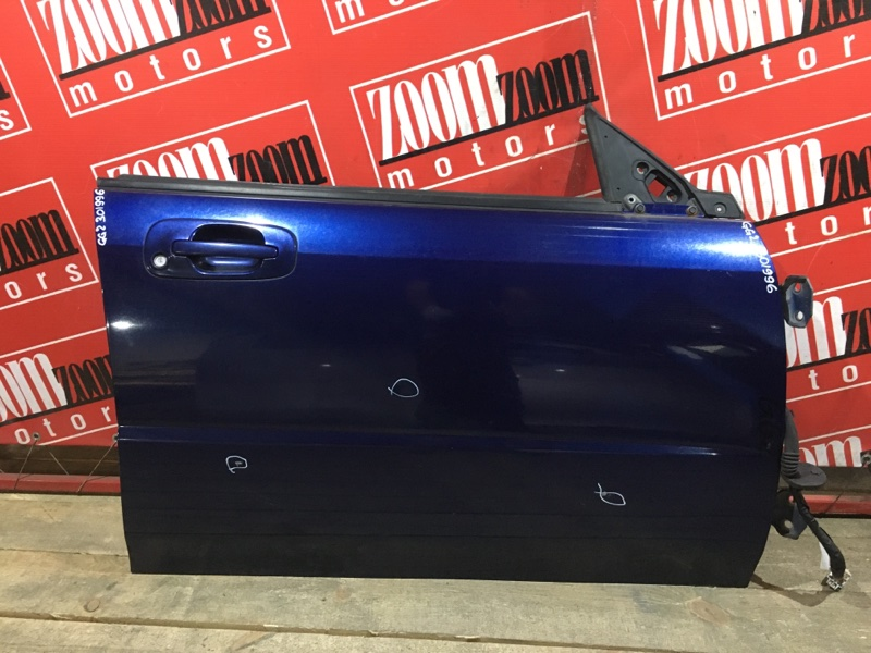 Дверь боковая Subaru Impreza GG2 EJ15 2000 передняя правая синий