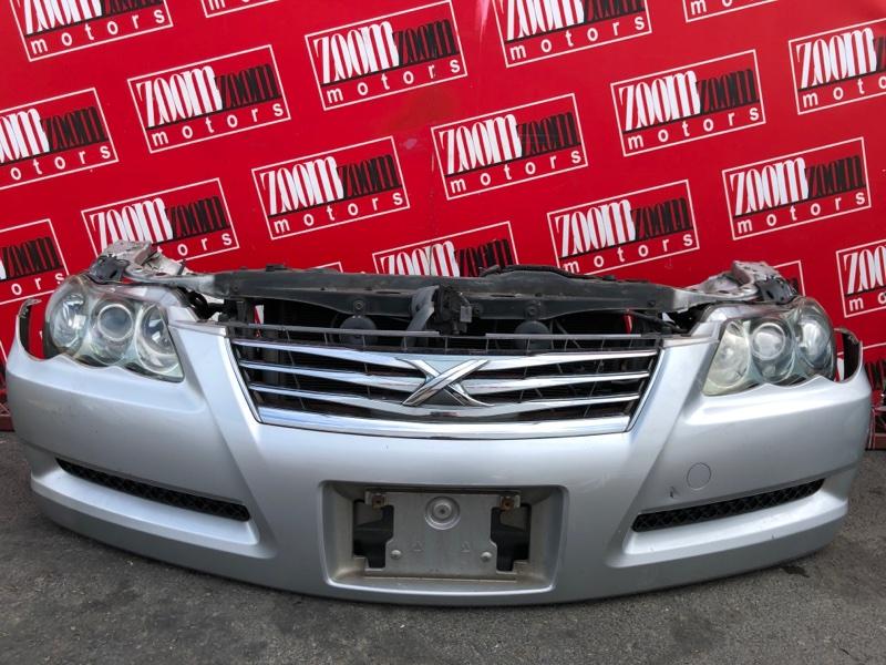 Nose cut Toyota Mark X GRX120 4GR-FSE 2004 серебро