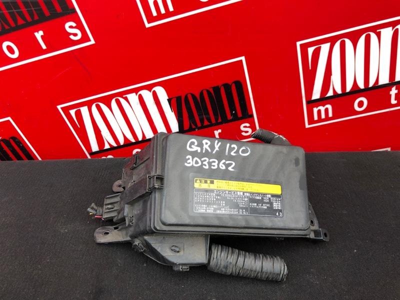 Блок реле и предохранителей Toyota Mark X GRX120 4GR-FSE 2004