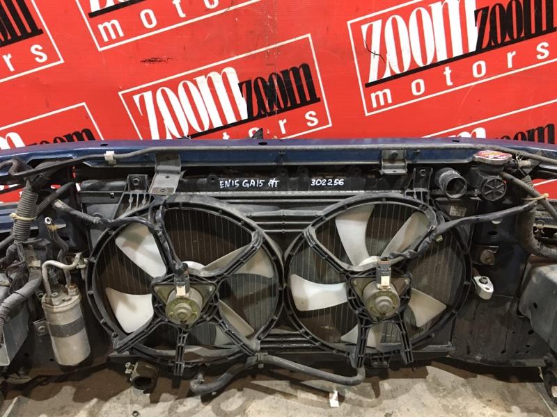 Радиатор двигателя Nissan Pulsar EN15 GA15DE 1995 передний