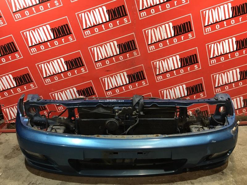 Рамка радиатора Nissan Pulsar EN15 GA15DE 1995 передняя синий