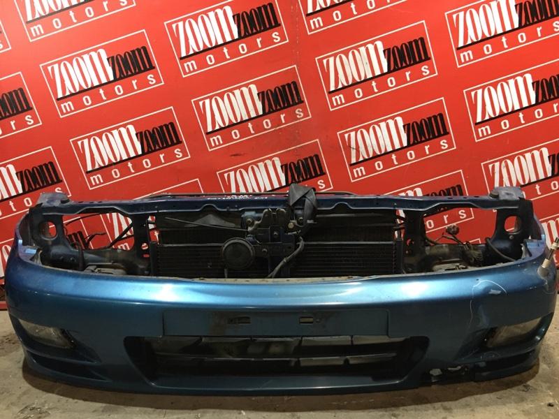Бампер Nissan Pulsar EN15 GA15DE 1995 передний голубой