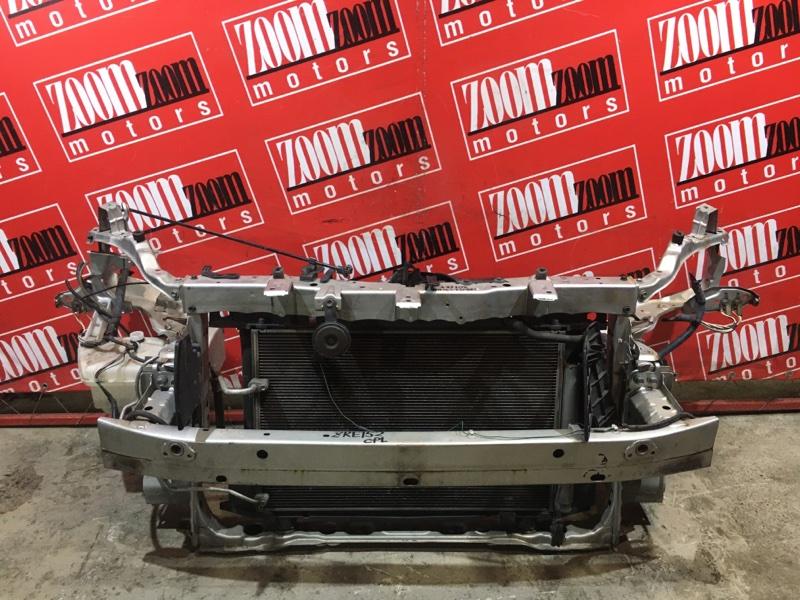 Рамка радиатора Toyota Auris ZRE152 2ZR-FAE 2006 передняя серый