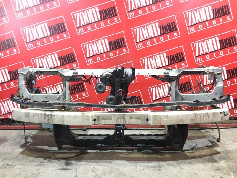 Усилитель бампера Nissan Gloria MY34 VQ25DD 1999 передний белый