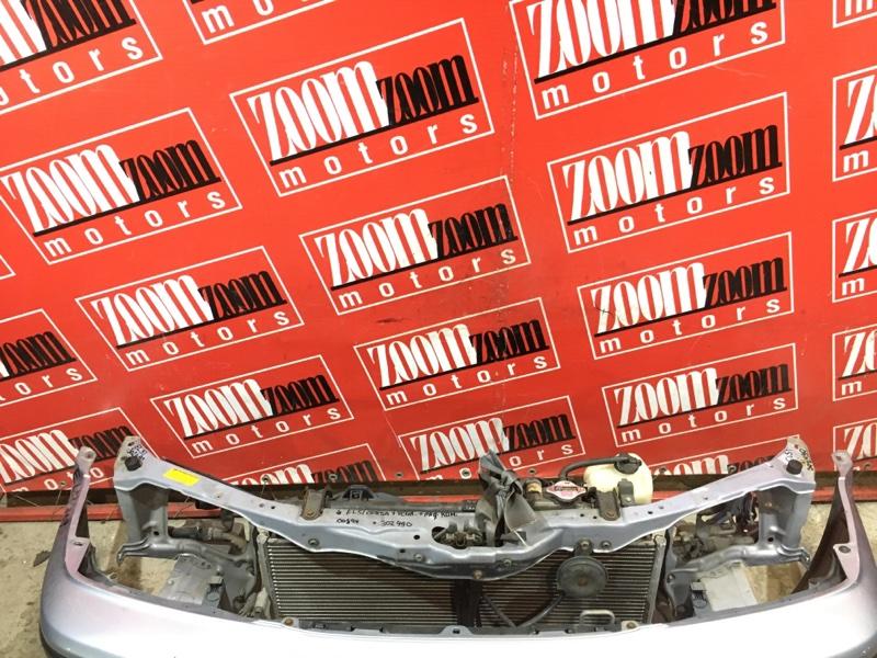 Рамка радиатора Toyota Corsa EL51 4E-FE 1997 передняя голубой