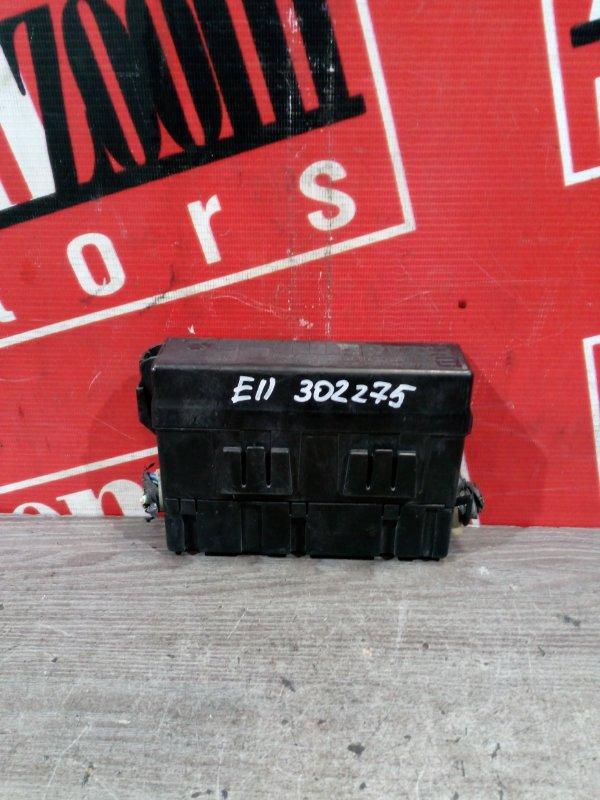 Блок реле и предохранителей Nissan Note E11 HR15DE 2004 передний