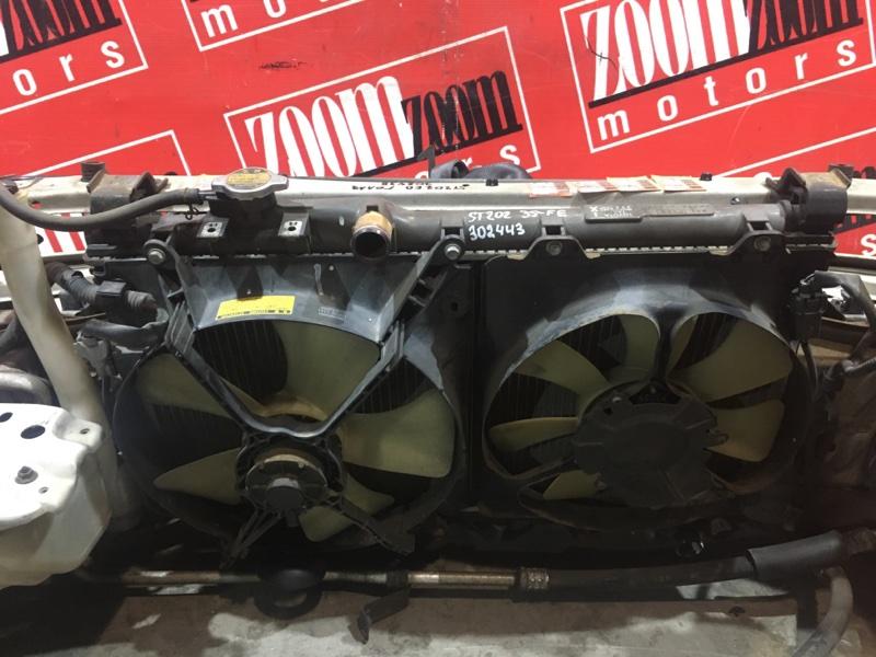 Радиатор двигателя Toyota Carina Ed ST202 3S-FE 1993 передний