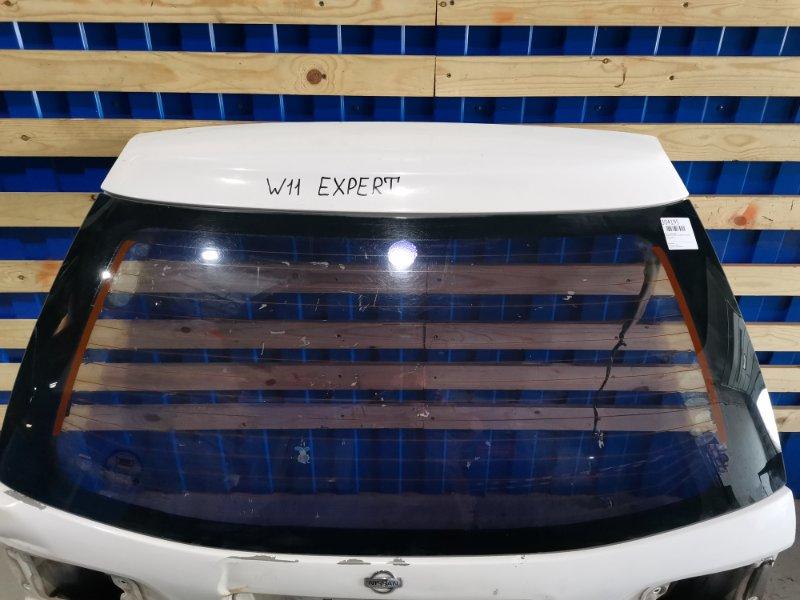Стекло заднее Nissan Expert W11 SR20DE 1998 заднее