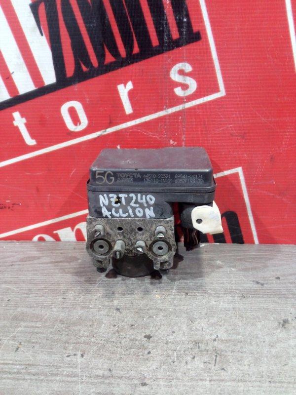 Блок abs (модулятор abs) Toyota Allion NZT240 1NZ-FE 2001 передний 44510-20321