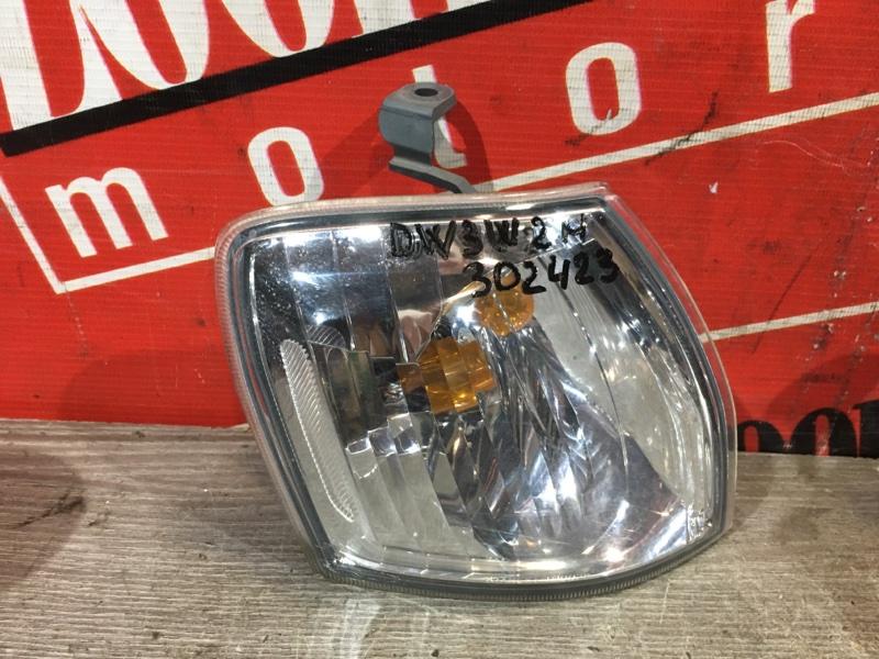 Поворотник (габарит) Mazda Demio DW3W B3 1999 передний правый 10-02