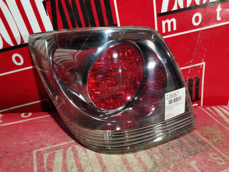 Фонарь (стоп-сигнал) Toyota Altezza Gita GXE10 1G-FE 1998 задний левый 53-21