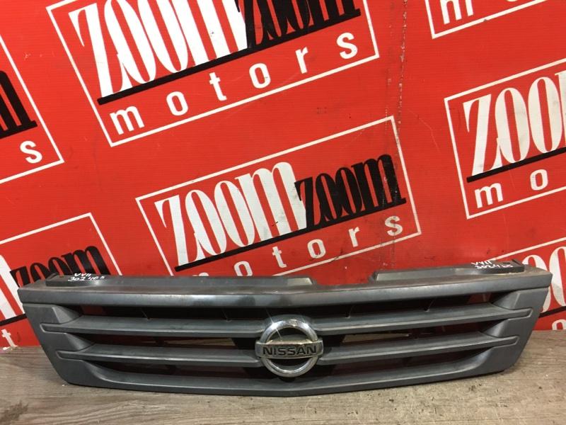 Решетка радиатора Nissan Ad VY11 QG13DE 1999 передняя черный