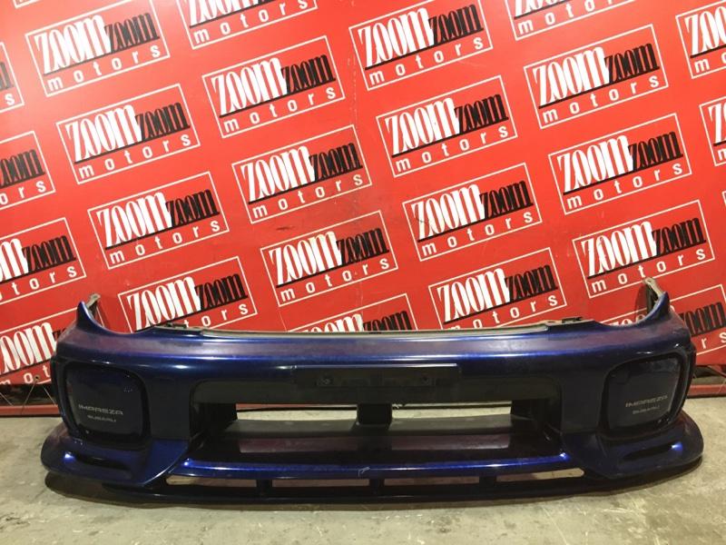 Бампер Subaru Impreza GG2 EJ15 2000 передний синий