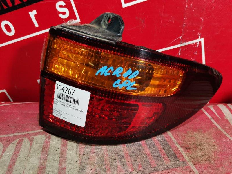 Фонарь (стоп-сигнал) Toyota Estima ACR30 2AZ-FE 2000 задний правый 28-140