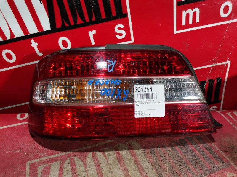 Фонарь (стоп-сигнал) Toyota Chaser GX100 1G-FE 1996 задний левый 22-254