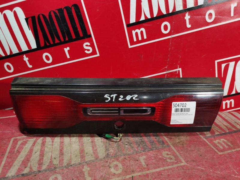 Фонарь (вставка багажника) Toyota Carina Ed ST202 4S-FE 1993 задний