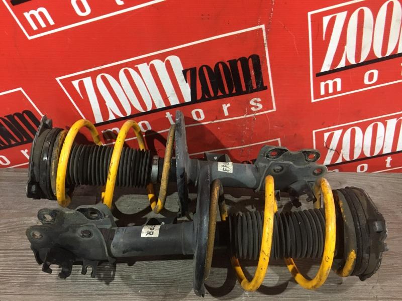 Стойка подвески Nissan Teana J32 VQ25DE 2008 передняя желтый