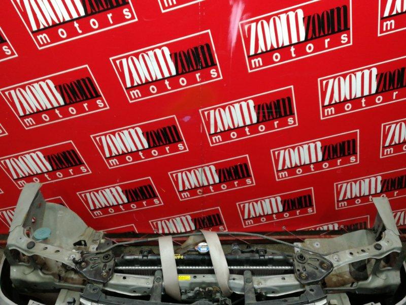 Рамка радиатора Nissan Sunny FB15 QG15DE 2002 серебро