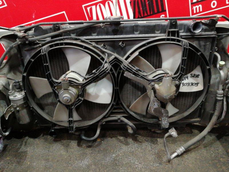 Радиатор двигателя Nissan Bluebird EU14 SR18DE 1996