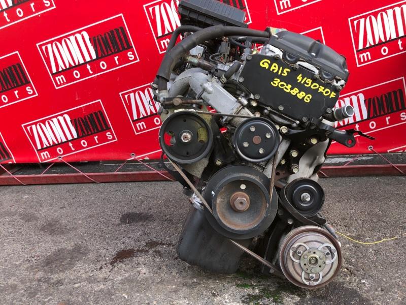 Двигатель Nissan Wingroad WFY10 GA15DE 1996