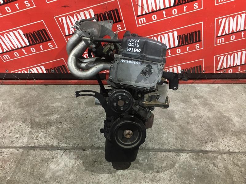 Двигатель Nissan Ad VY11 QG13DE 1999 №390652