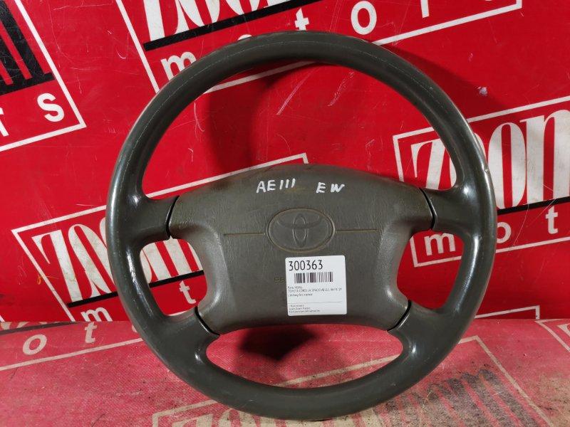 Руль Toyota Corolla Spacio AE111 4A-FE 1997 передний