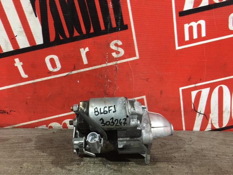 Стартер Mazda Axela BL6FJ Z6 2009