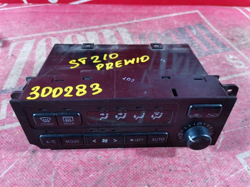Блок управления отоплением и вентиляцией Toyota Corona Premio ST210 3S-FSE 1999 передний