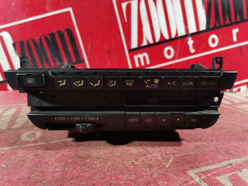 Блок управления отоплением и вентиляцией Toyota Carina AT190 5A-FE 1992 передний