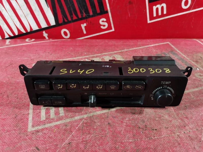 Блок управления отоплением и вентиляцией Toyota Vista SV40 4S-FE 1994 передний
