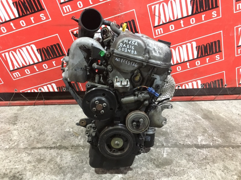 Двигатель Suzuki Aerio RA21S M15A 2001 №1113136