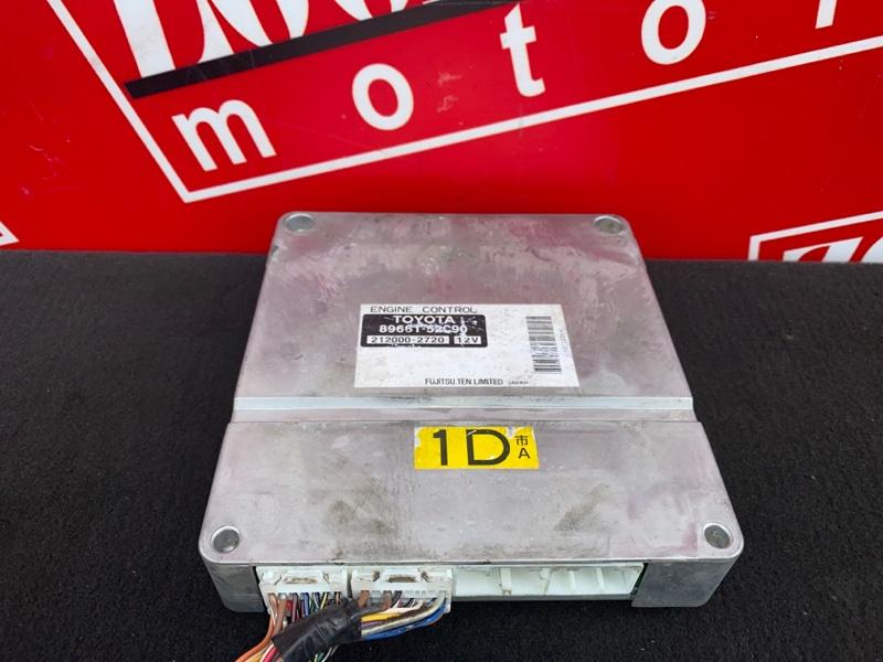 Компьютер (блок управления) Toyota Probox NCP50 2NZ-FE 2002 89661-52450